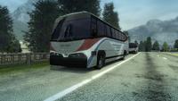Traffic bus coach