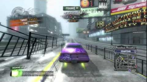 Burnout Paradise - Vegas Burning Route
