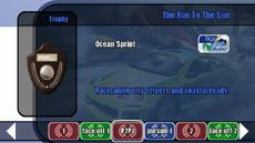 Championship stage 03 - The Run To The Sun - B2 menu