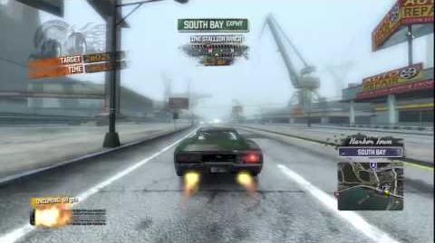 Burnout Paradise - Fastback Burning Route