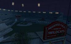 Wildcats Baseball Stadium (night)