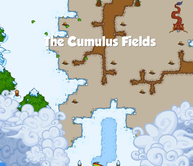 The Cumulus Fields Banner