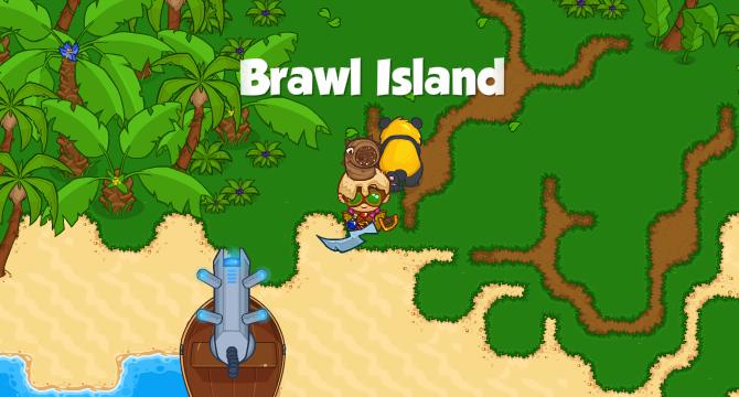 Brawl Island Banner