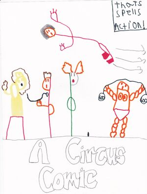 A Circus Comic Cover