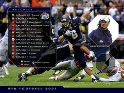 2001 Schedule