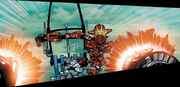 Comic Makuta Antroz Teleporting Out of Jetrax T6