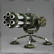 Gatling gun x