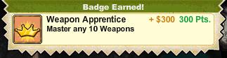 Weapon Apprentice