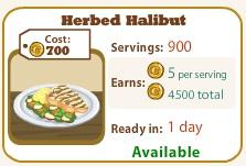 Herbed Halibut