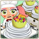 Chef special super chunk fruit salad