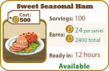 Sweet Seasonal Ham