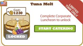 Tuna Melt Locked