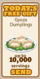 GyozaDumplings-SendGift10K