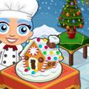 Taste test gingerbread house
