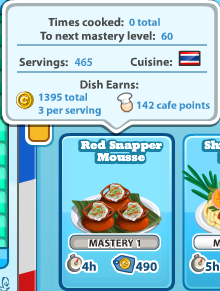 Redsnappermousse