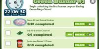 Green Ultra Stove Mega Goals