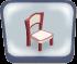 Pink Queen Anne Chair