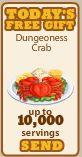 DungeonessCrab-SendGift10K
