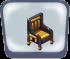 Black Egyptian Chair