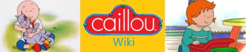 Caillou Wiki Homepage Logo