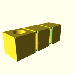 OpenSCAD linux i686 mesa-dri-r300 wicr regression opencsgtest render-tests-expected