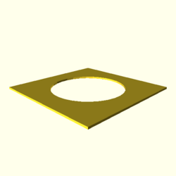 OpenSCAD linux ppc64 gallium-0.4-on hvub regression throwntogethertest circle-double-expected