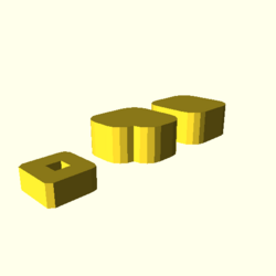 OpenSCAD linux i686 mesa-dri-r300 wicr regression opencsgtest minkowski3-tests-expected