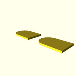 OpenSCAD linux ppc64 gallium-0.4-on hvub throwntogethertest-output null-polygons-actual