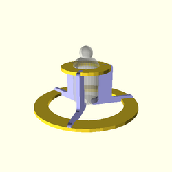 OpenSCAD linux i686 mesa-dri-r300 wicr regression opencsgtest example017-expected