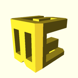 OpenSCAD linux i686 mesa-dri-r300 wicr regression opencsgtest example008-expected