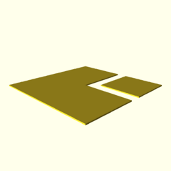 OpenSCAD mac 64-bit nvidia-geforce-gt cdiv tests regression opencsgtest polygons-expected