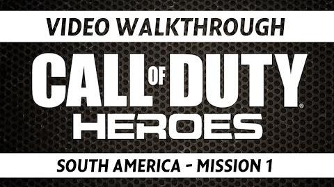 Call of Duty Heroes Video Walkthrough - South America Mission 1