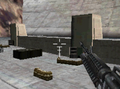 Russian fortifications Mw3DS Dam Approach.PNG