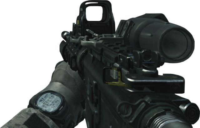 File:M4A1 Hybrid Sight Off MW3.png