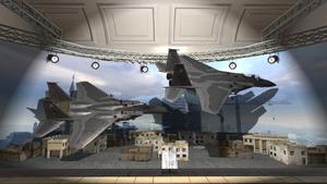 F-15 Eagle model Museum MW2
