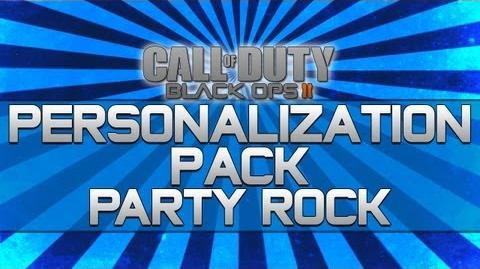 Black Ops 2 - Personalization Pack Party Rock!! (Camo, Reticle and Calling Card)