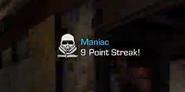 Maniac pointstreak ready CoDG