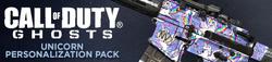 Unicorn Personalization Pack Header CoDG
