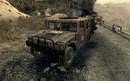 Humvee Just Like Old Times MW2