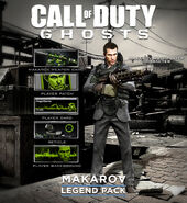 Makarov Legend Pack CoDG