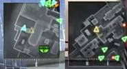 Ghosts vs No Ghost Minimap BO2