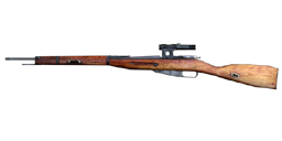 Mosin-Nagant scoped menu icon CoD1
