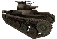 Type 97 destroyed model WaW