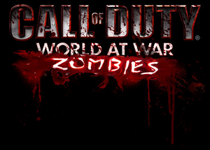 World at War Zombies Mobile starting screen