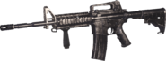 M4 Carbine Nickel Plated MWR