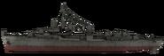 Fletcher-class destroyer model side WaW