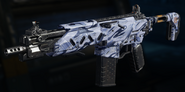 Peacekeeper MK2 Gunsmith Model Snow Job Camouflage BO3