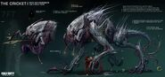 Aliens Concept Art Extinction CoDG