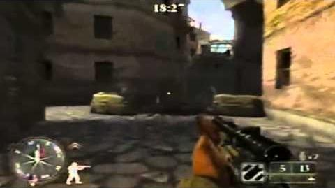 Call of Duty 2 Big Red One Online Multiplayer Match - Troina (Capture the Flag)