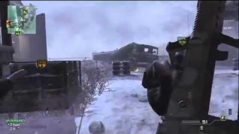 MW3 Domination Gameplay on Outpost - FULL GAME